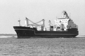 """El buque """"Ville du Havre"""", en la etapa en que se llamó """"Gauguin"""""""