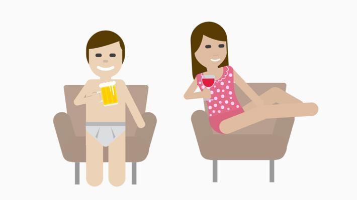 Beber solo en casa y en ropa interior se llama kalsarikännit