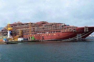 """El emblemático buque """"Azora"""" lleva un retraso de seis meses"""
