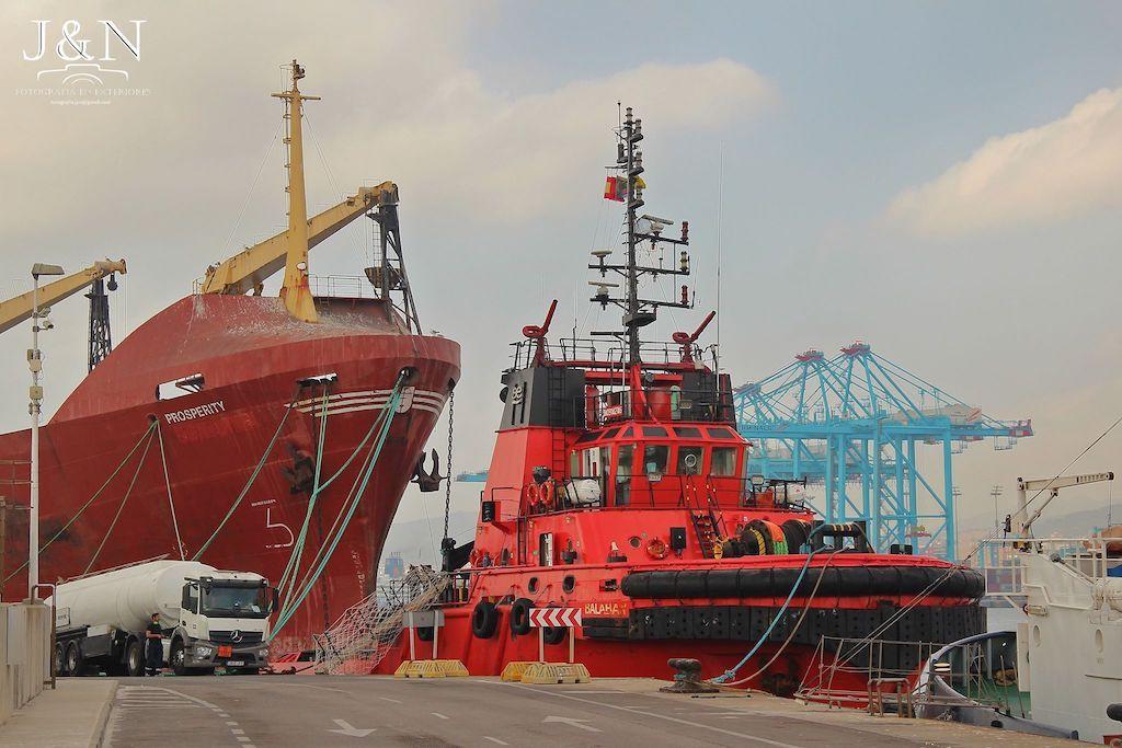 """El remolcador """"Balaban"""" será el encargado de llevarse el buque """"Prosperity"""""""