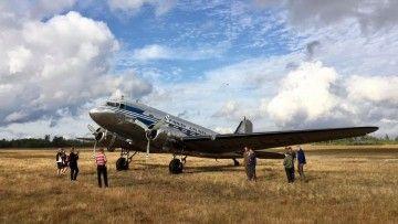El avión Douglas DC-3 OH-LCH se mantiene en perfecto estado de aeronavegabilidad