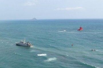 """Salvamento Marítimo colabora con la Armada en el accidente del cazaminas """"Turia"""""""