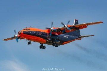 Este avión de Cavok tiene una librea atractiva
