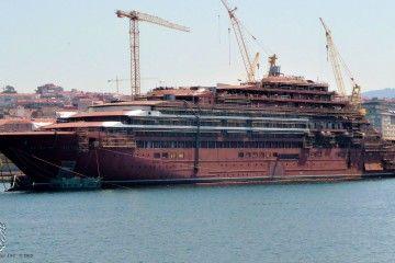 Estado en el que se encuentra el buque contratado por The Ritz Carlton Yacht