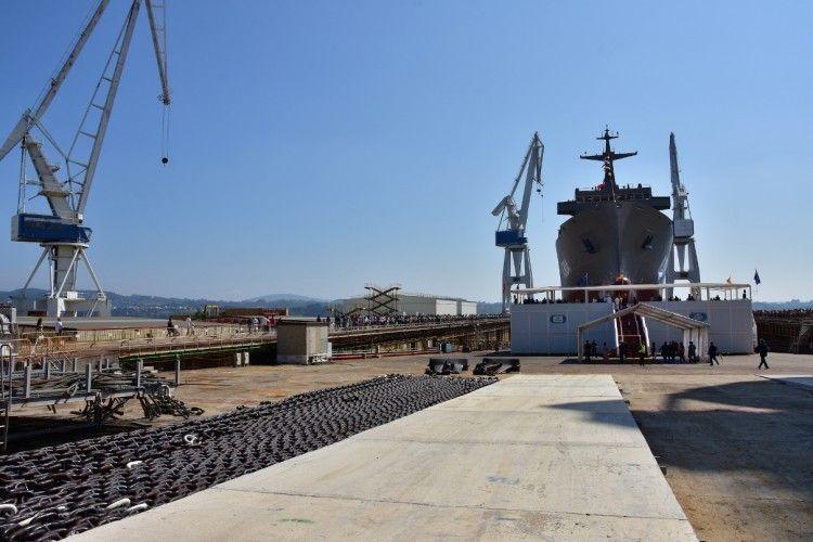Navantia tiene por delante el proyecto F-110, que dará trabajo para una década