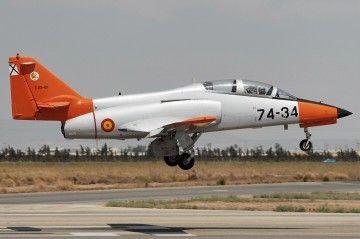 Avión CASA C-1010 Aviojet similar al accidentado