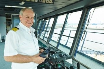 Kjell Holm, comodoro de la flota alemana de Tui Cruises