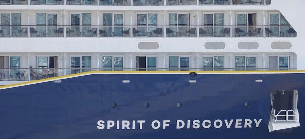 """El nuevo buque """"Spirit of Discovery"""" está de estreno"""