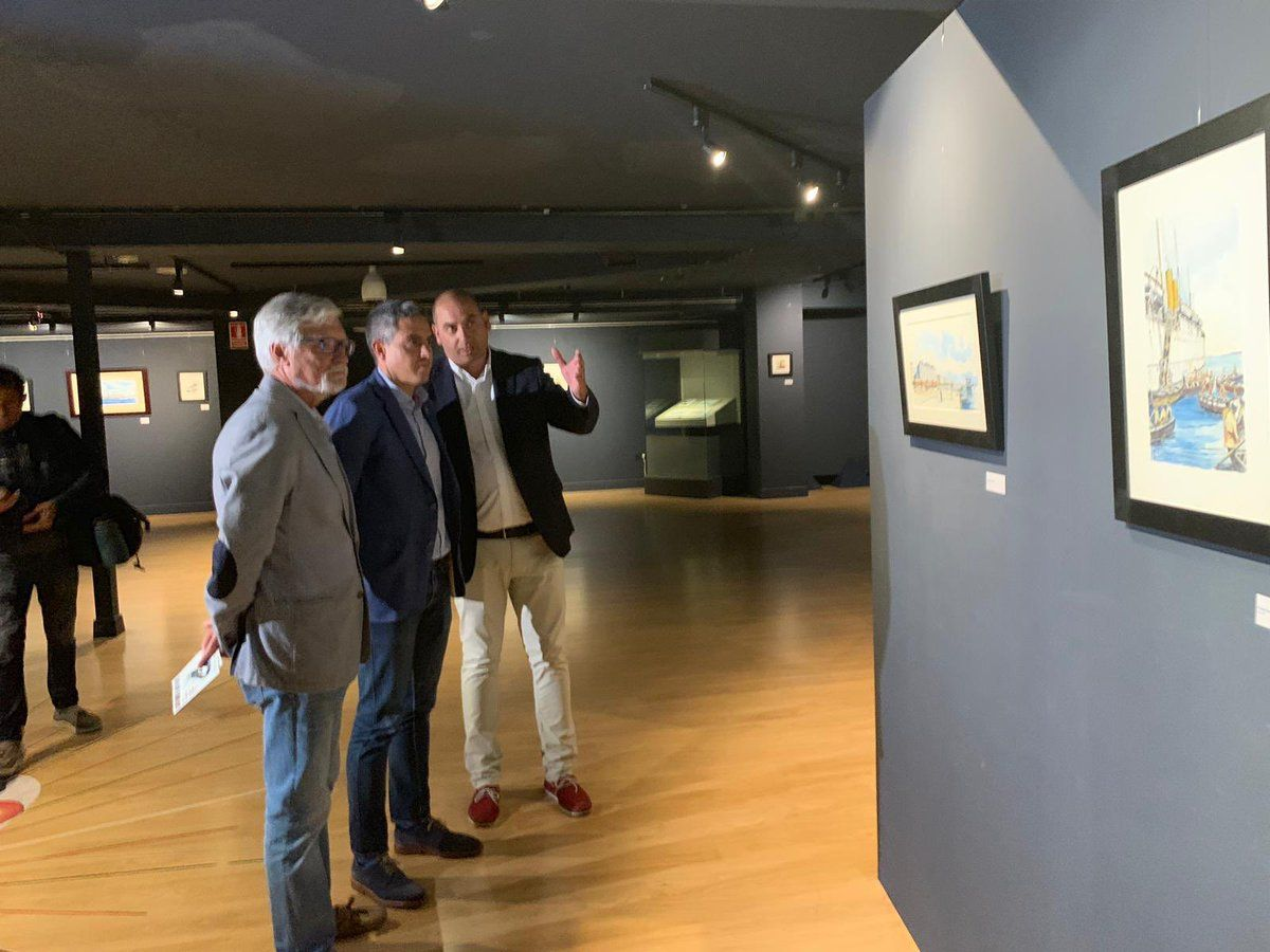 La exposición de Roberto Hernández ha despertado un gran interés