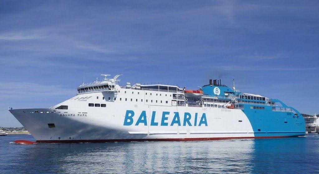 "El ferry ""Bahama Mama"" abandona la OPE para regresar a Baleares"