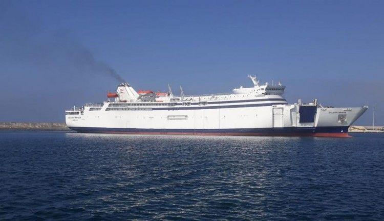 "El ferry ""Golden Bridge"", fletado por FRS Iberia"