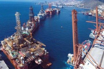 Esta imagen pertenece a la historia del puerto de Santa Cruz de Tenerife