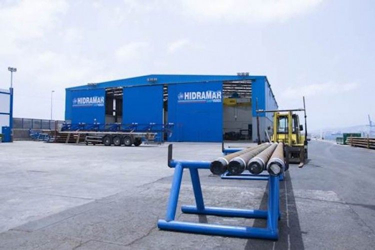Instalaciones de Hidramar Shipyards en el puerto de Las Palmas de Gran Canaria