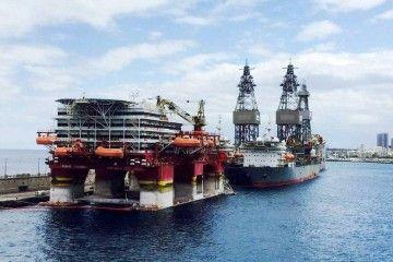 Hubo un tiempo en el que Ensco fue un cliente preferencial del puerto de Santa Cruz de Tenerife