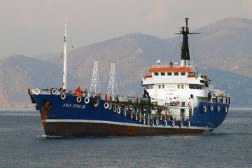 """El buque """"Fosfórico"""", ahora """"Agra Zoni III"""", en aguas de El Pireo"""