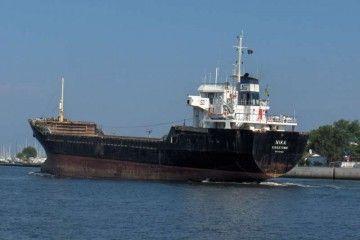 """El buque """"Duro Turiellos"""", en la etapa en la que navegó con el nombre de """"Nika"""""""