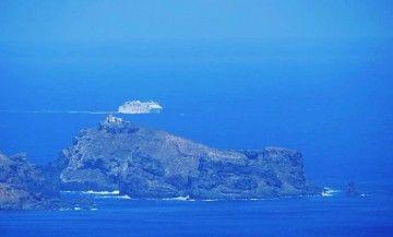 """El ferry """"Volcán de Timanfaya"""" se aproxima a la isla de Madeira"""