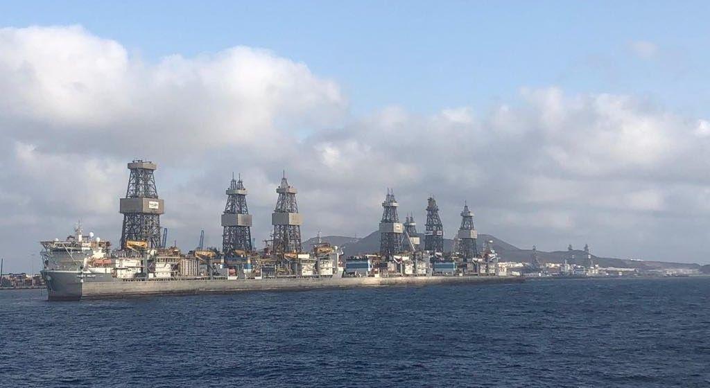 El puerto de Las Palmas de Gran Canaria es un referente en reparaciones navales
