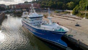"""El pesquero pelágico """"Adenia"""" es un proyecto de la firma noruega Salt"""