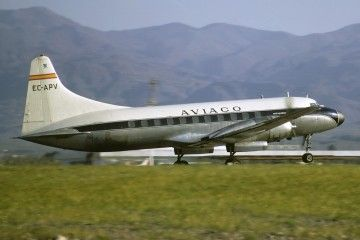 Convair CV 440 Metropolitam EC-APV de AVIACO