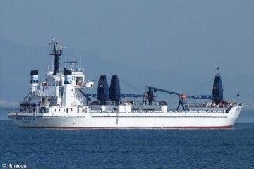 """El buque """"Montelaura"""", abanderado en Panamá y propiedad del Grupo Calvo"""