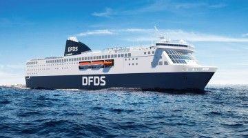 Este será el aspecto externo de los ferries de DFDS
