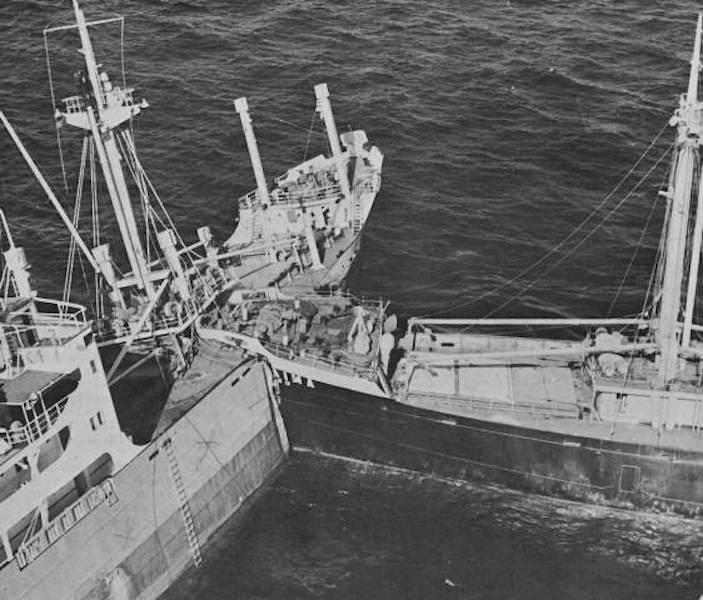 """Resultado de la colisión entre los buques """"Roraima"""" y """"Anzoátegui"""""""
