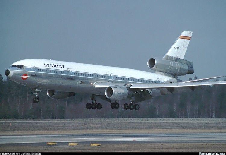 Douglas DC-10 EC-DEG de Spantax, avión de triste memoria