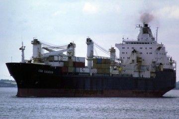 """El buque """"CTE Macarena"""", en la etapa en que se llamó """"Gauguin"""""""