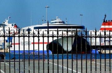 """El catamarán """"Ciudad de Ceuta"""" abrirá la alta velocidad de Naviera Armas entre Las Palmas y Morro Jable"""