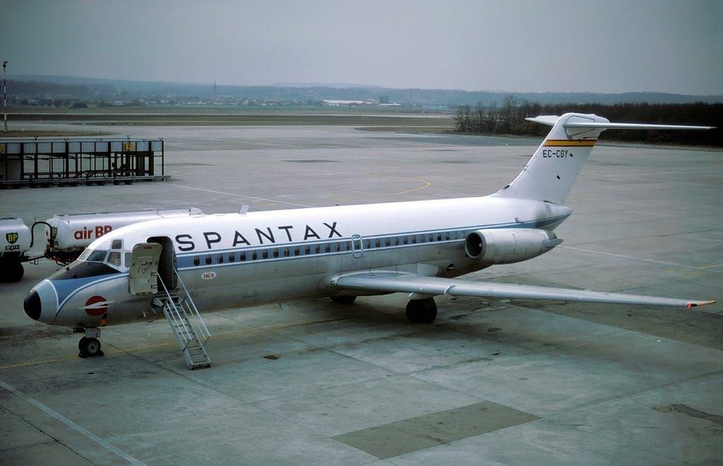 Douglas DC-9-14 EC-CGY de Spantax