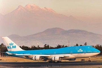 El legendario Boeing B-747, uno de los aviones emblemáticos de KLM