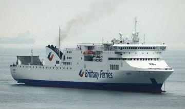"""El buque """"Kerry"""", durante su escala en Gibraltar"""