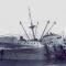 """El buque """"Antártico"""", herido de muerte, en su varada al oeste de Las Quebrantas"""