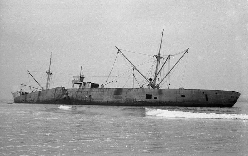 """El buque """"Antártico"""" fue desguazado """"in situ"""""""