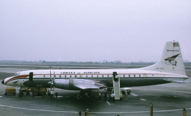 Bristol Britannia de Cubana de Aviación (1972)