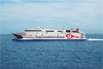 """El catamarán """"Ciudad de Ceuta"""" estará una temporada en Canarias"""