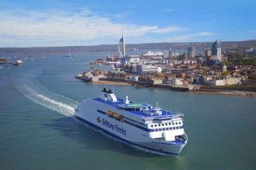 Este será el aspecto exterior de los buques clase E-Flexer de Brittany Ferries