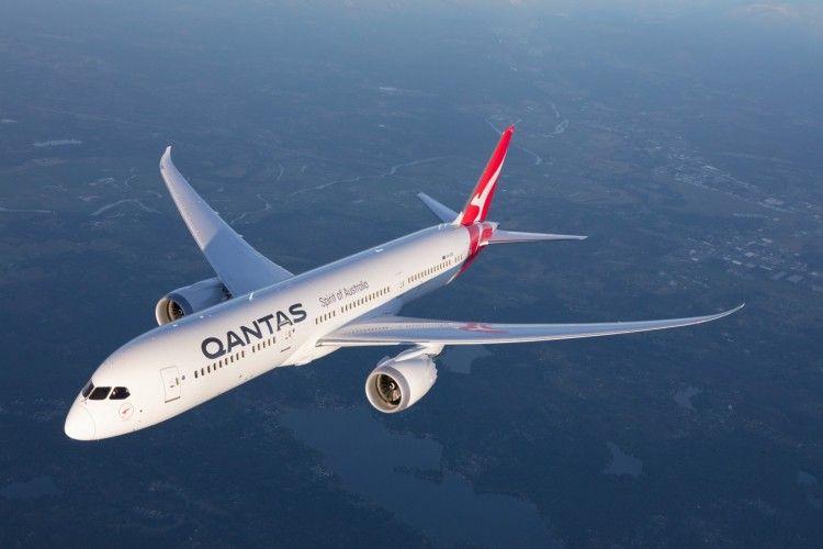 El vuelo ha estado a cargo de un avión Boeing B-787-9 de Qantas