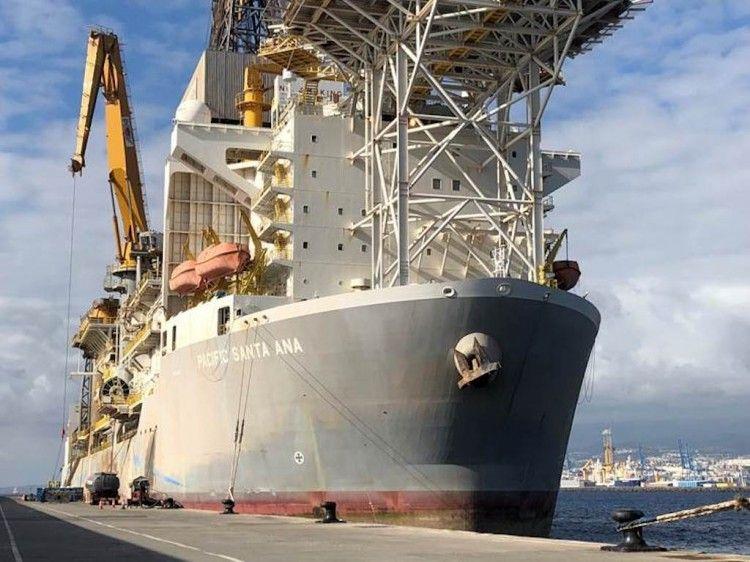 """El buque """"Pacific Santa Ana"""" llegará mañana al puerto de Las Palmas de Gran Canaria"""