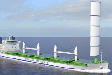 Wártsila presenta el proyecto Ultramar 2030, un bulkcarrier de 65.000 TPM
