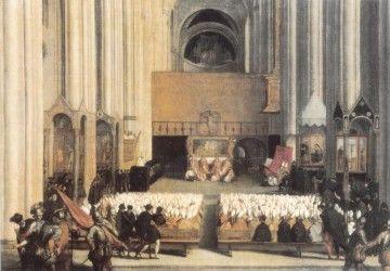 El Concilio de Trento, en un cuadro de Tiziano