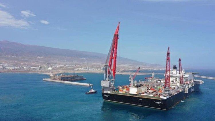 """El buque """"Pioneering Spirit"""" zarpará el próximo 13 de noviembre"""