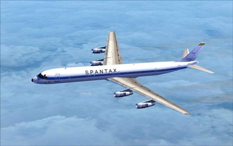 Douglas DC-8 serie -61, un avión maravilloso en la historia de Spantax