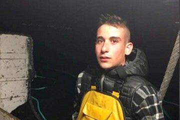 """El joven tripulante del pesquero """"Ardorán"""", Juan Perol"""