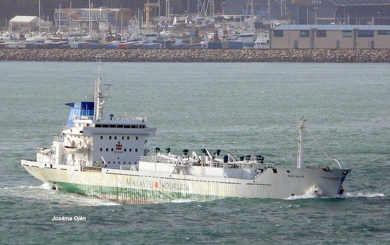 Es un buen barco, el último cementero construido en Marítima del Musel