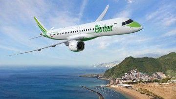 Binter será la primera operadora del E2 en Europa