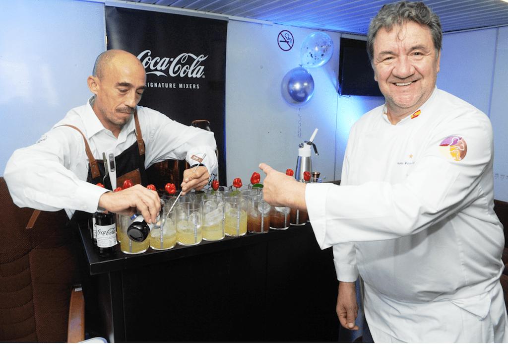 El chef Koldo Royo y el barman Luis Díaz hicieron las delicias de los asistentes