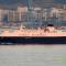 """El buque """"La Surprise"""", en aguas de la bahía de Algeciras"""