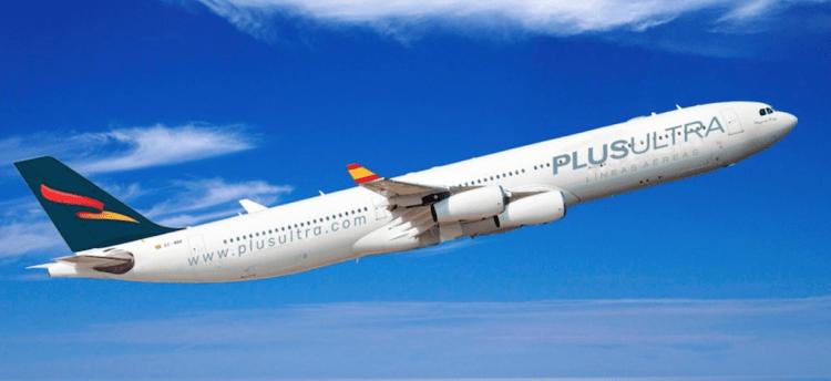La aerolínea española Plus Ultra Líneas Aéreas crece
